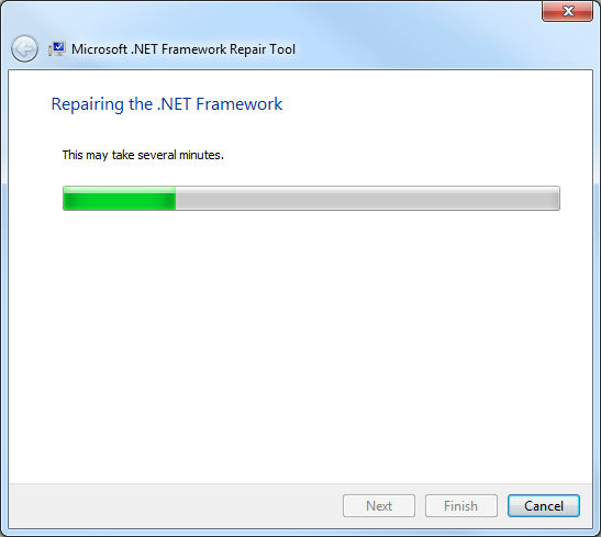 .Net Framework Repair Tool, reparacin completa de .Net Framework