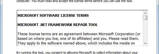 Microsoft ha lanzado .NET Framework Repair Tool 1.0